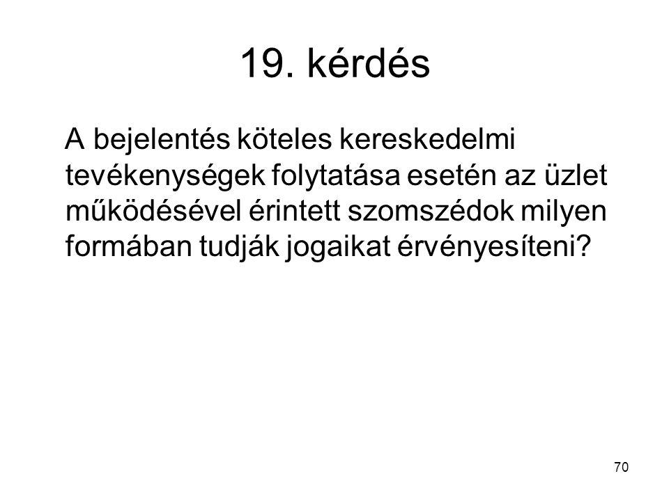 19. kérdés