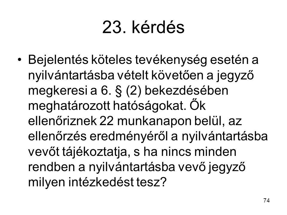 23. kérdés
