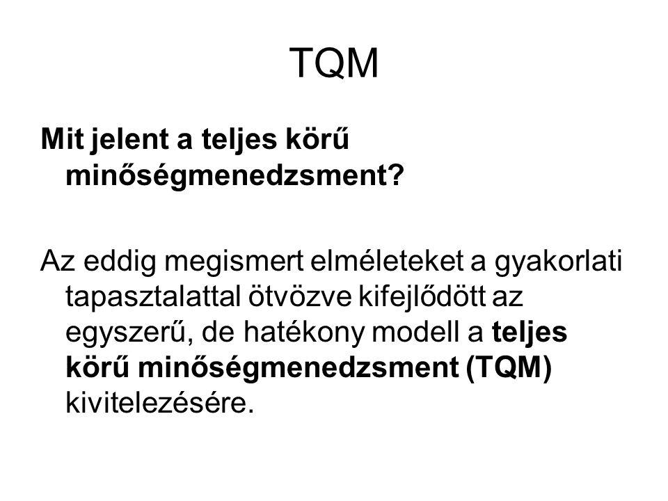 TQM Mit jelent a teljes körű minőségmenedzsment