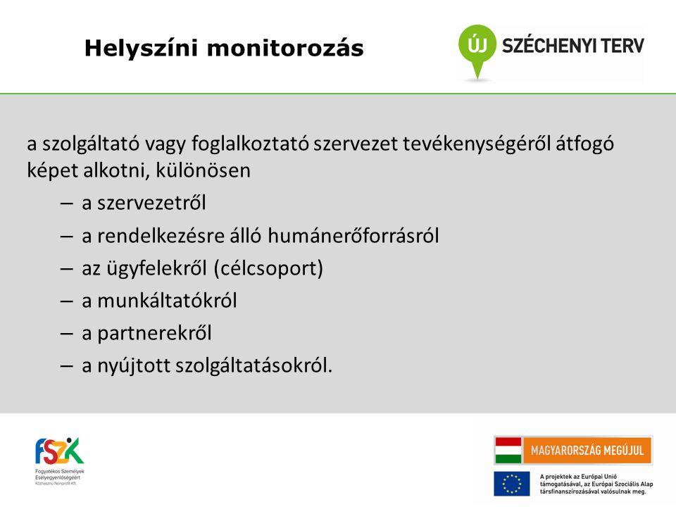 Helyszíni monitorozás