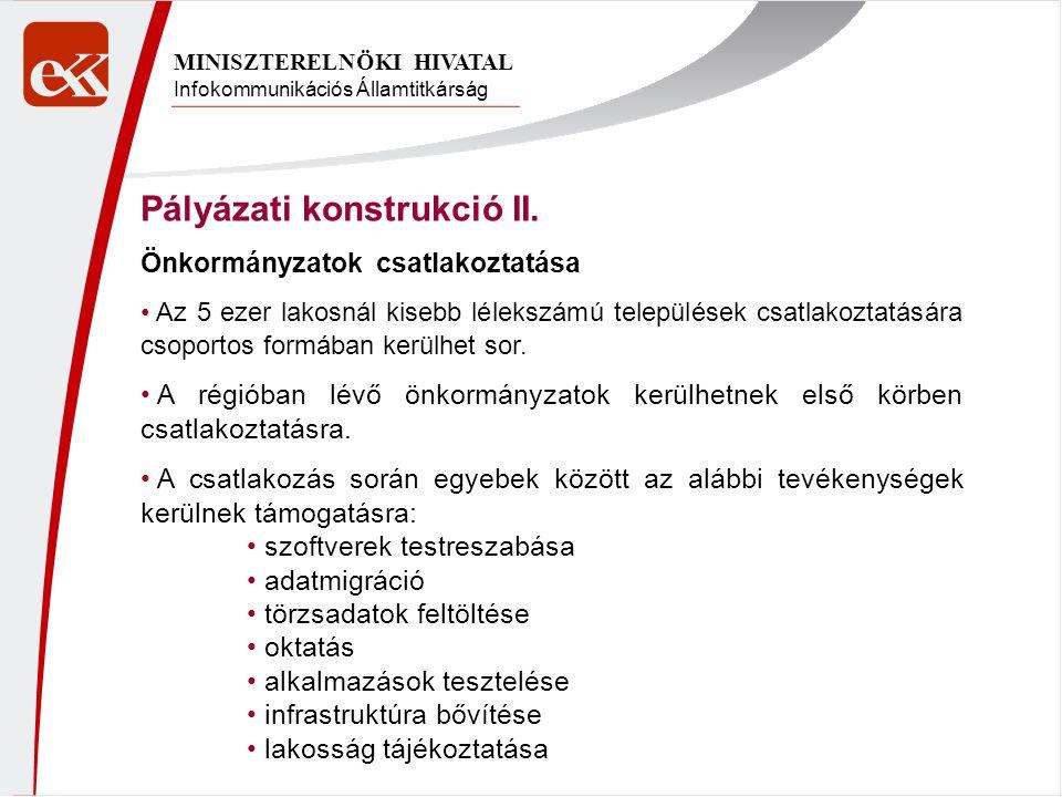 Pályázati konstrukció II.