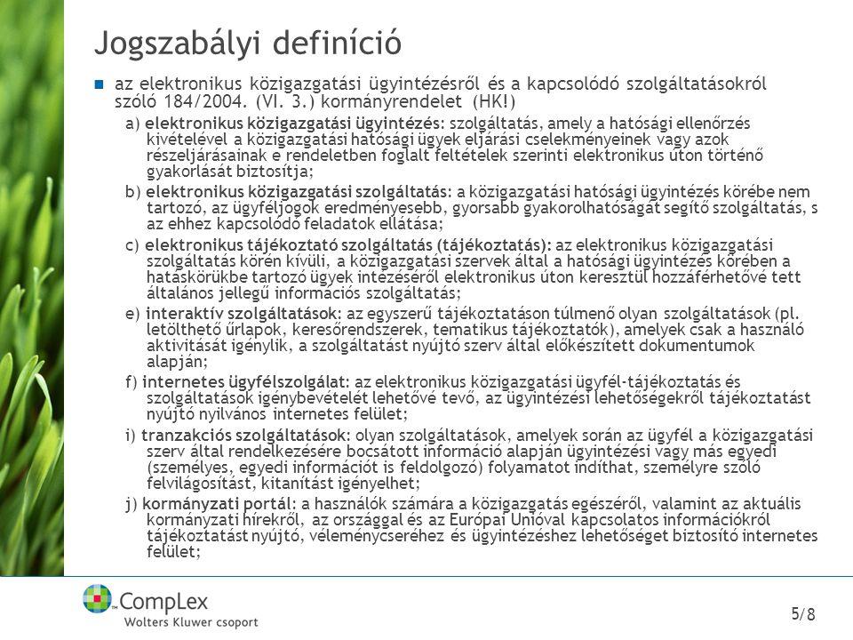 Jogszabályi definíció