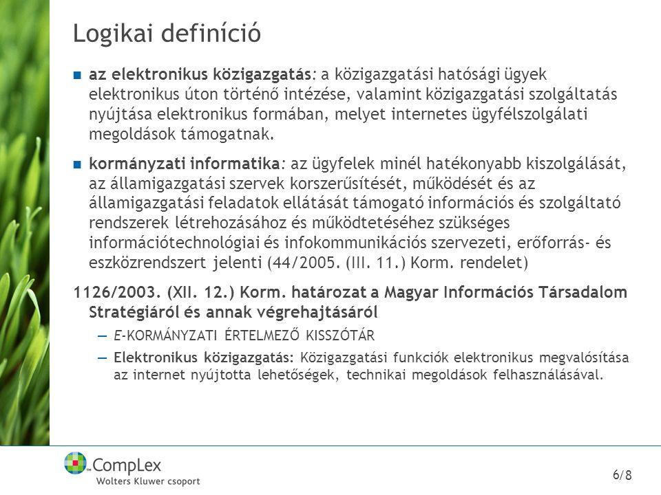 Logikai definíció