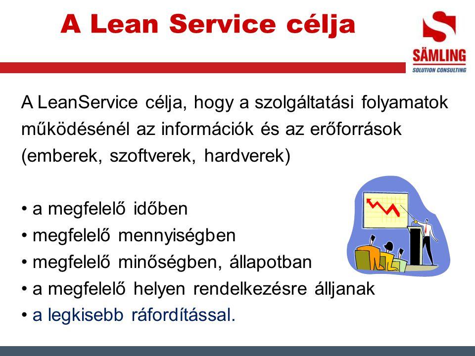 A Lean Service célja