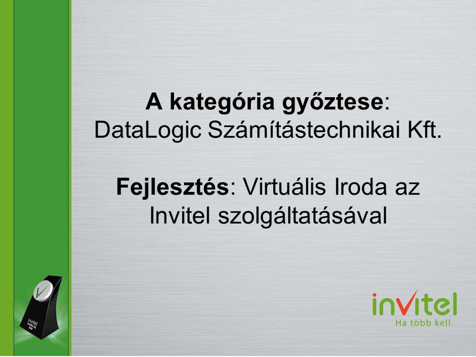 A kategória győztese: DataLogic Számítástechnikai Kft