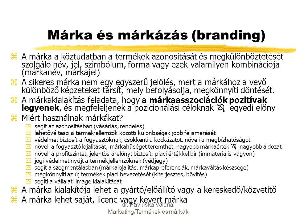 Márka és márkázás (branding)