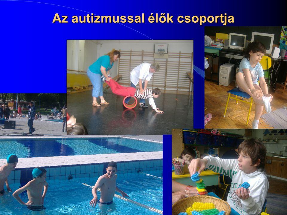 Az autizmussal élők csoportja