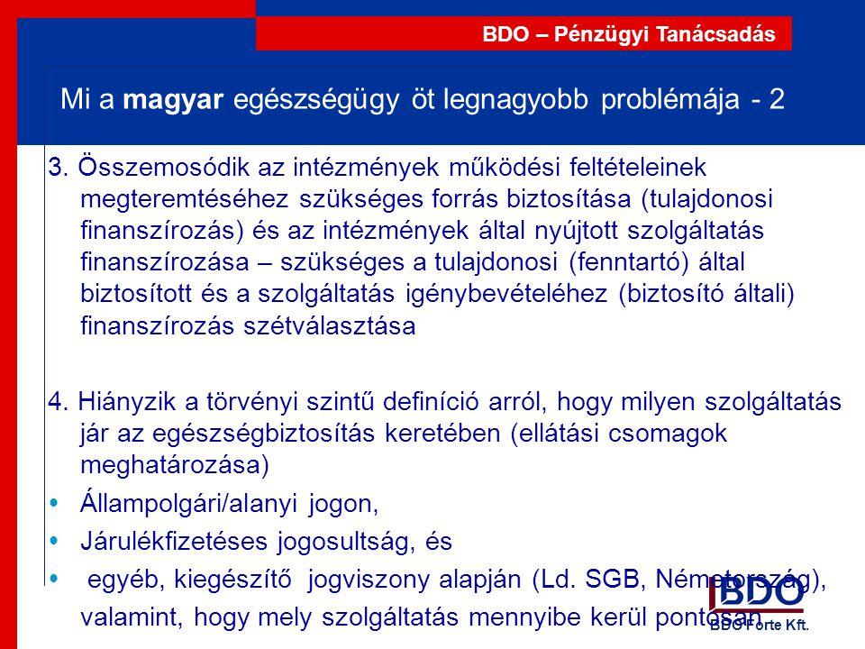 Mi a magyar egészségügy öt legnagyobb problémája - 2