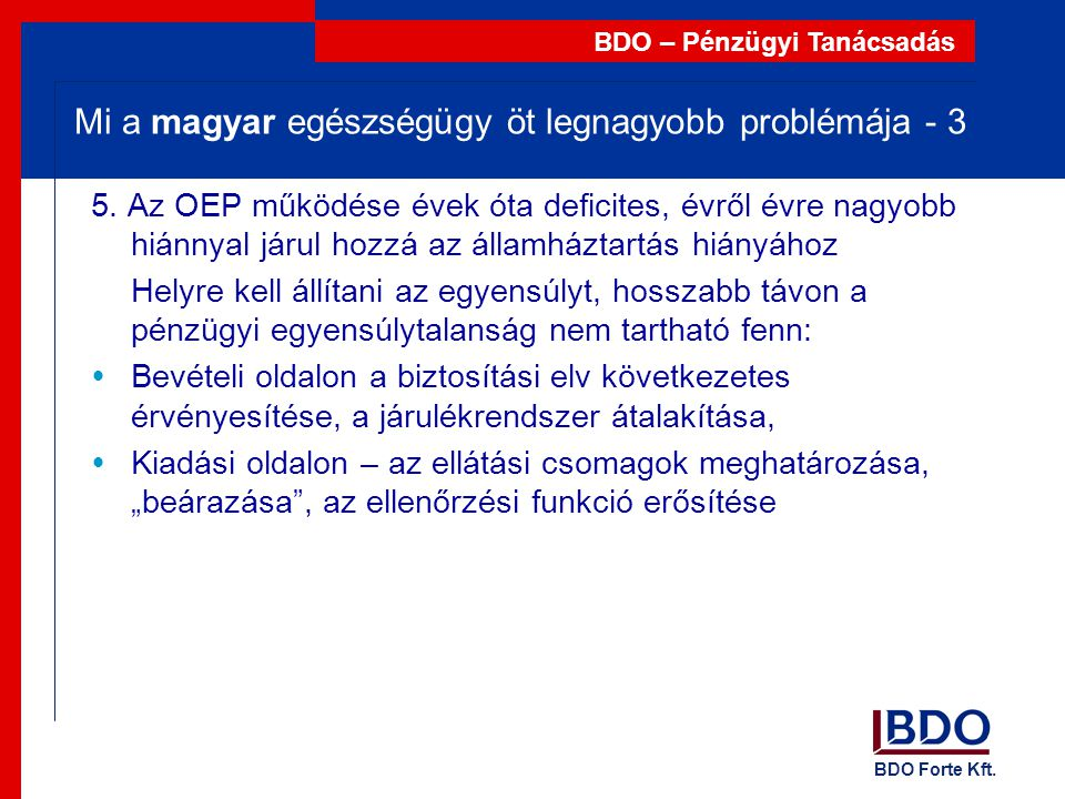 Mi a magyar egészségügy öt legnagyobb problémája - 3