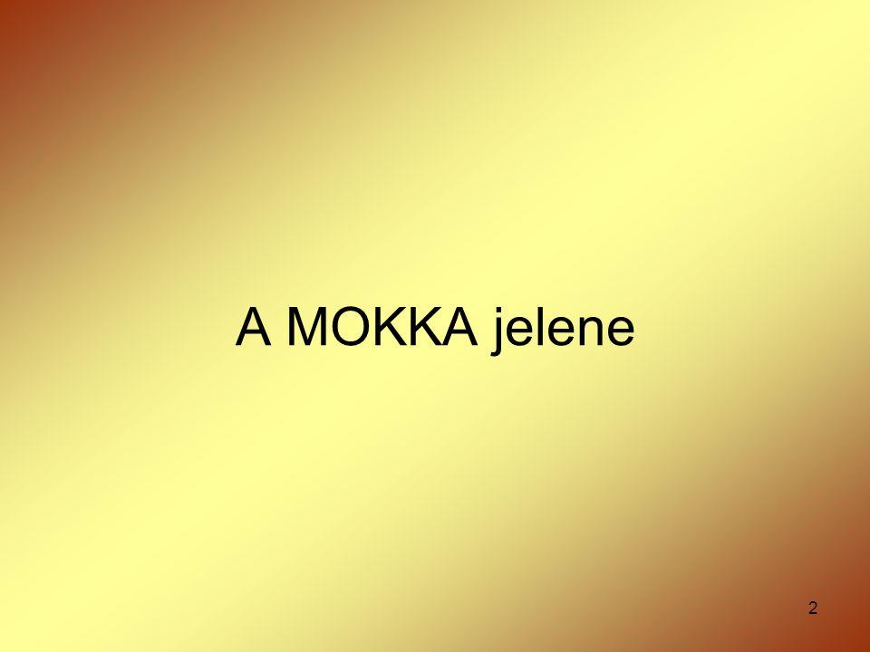 A MOKKA jelene