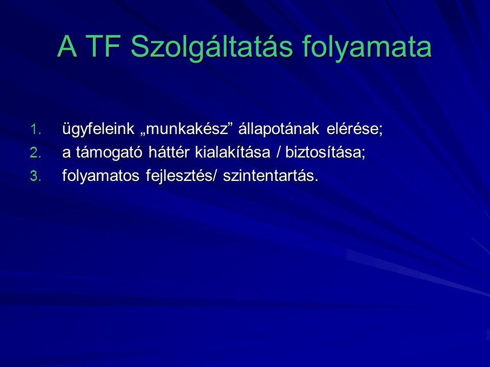 A TF Szolgáltatás folyamata