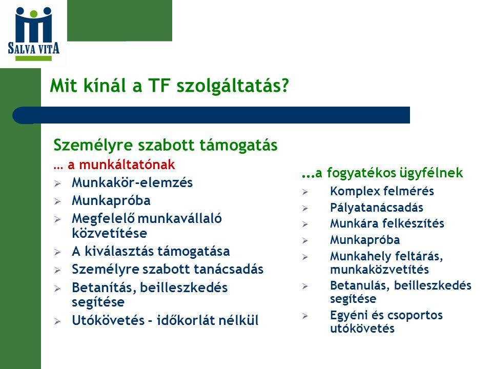 Mit kínál a TF szolgáltatás