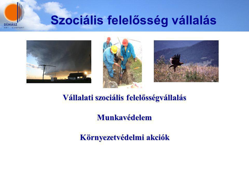 Vállalati szociális felelősségvállalás Környezetvédelmi akciók