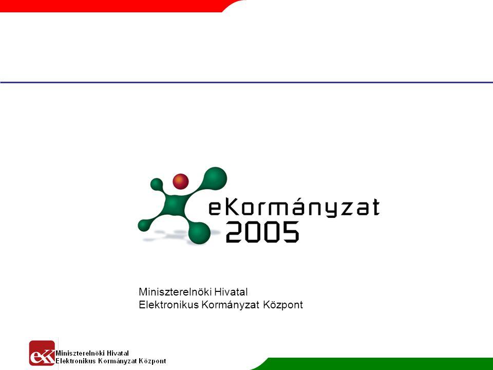 Miniszterelnöki Hivatal Elektronikus Kormányzat Központ