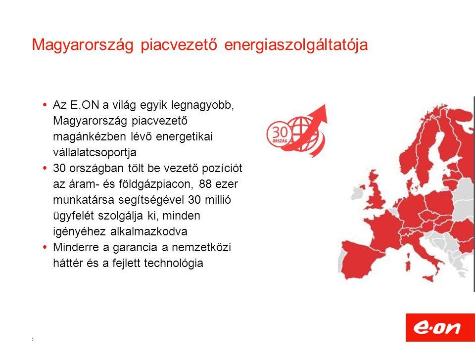 Magyarország piacvezető energiaszolgáltatója