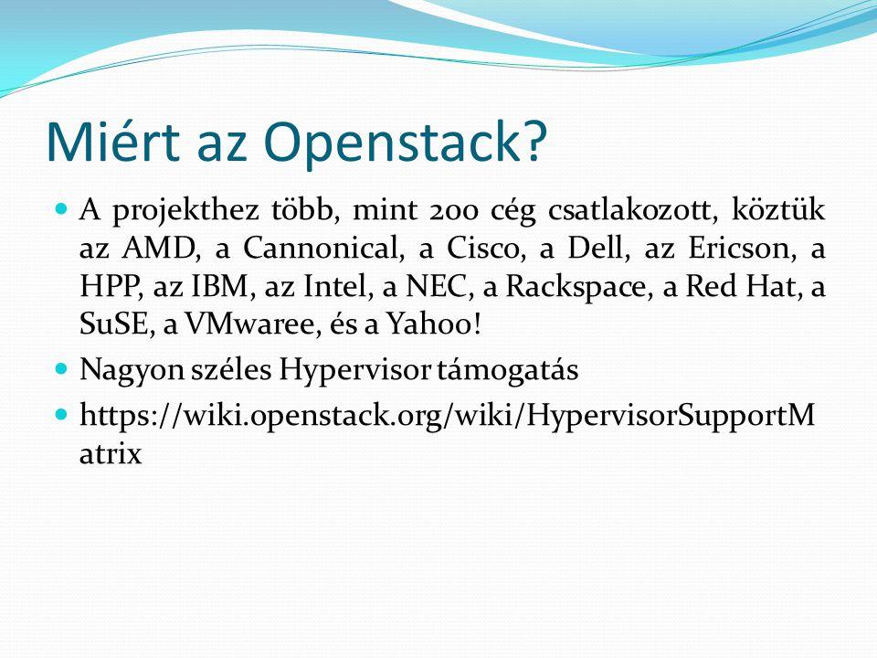 Miért az Openstack
