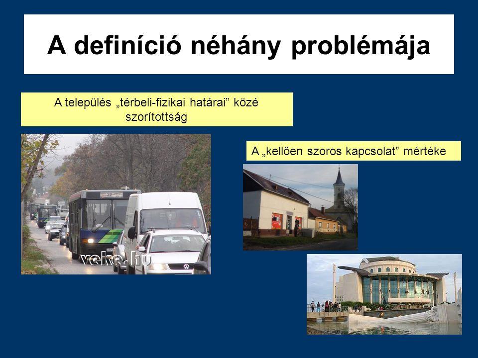 A definíció néhány problémája