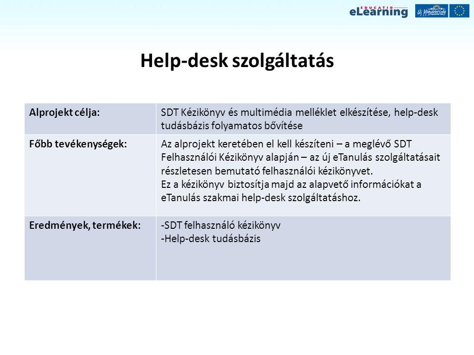 Help-desk szolgáltatás