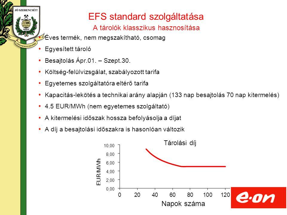EFS standard szolgáltatása