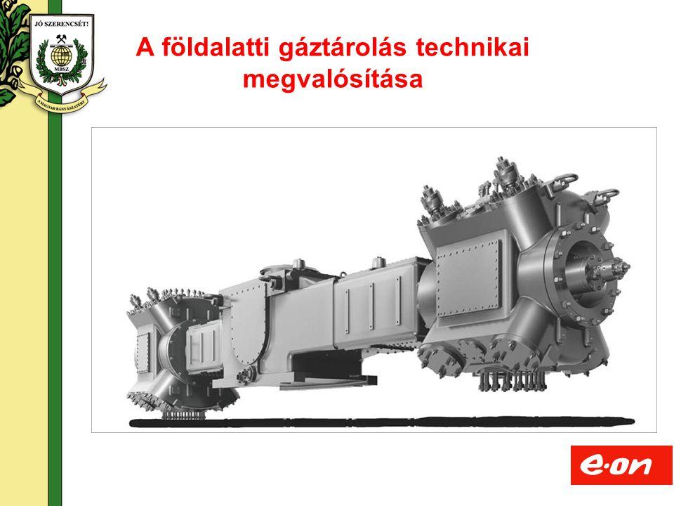 A földalatti gáztárolás technikai megvalósítása