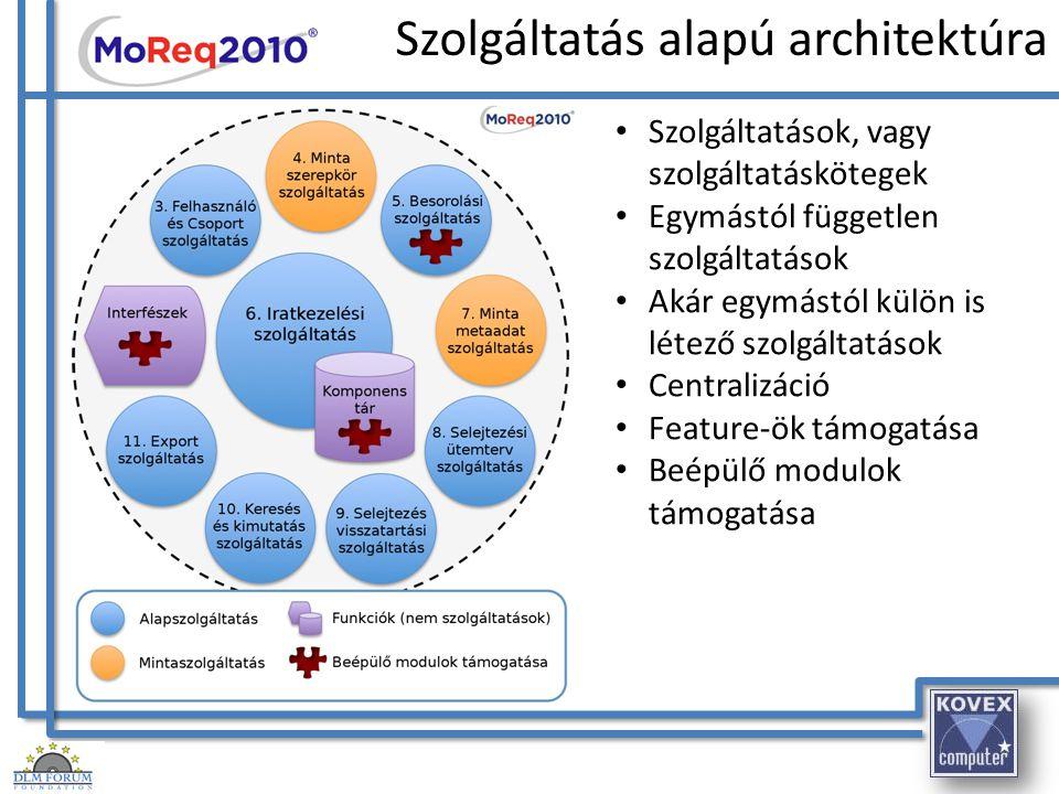 Szolgáltatás alapú architektúra