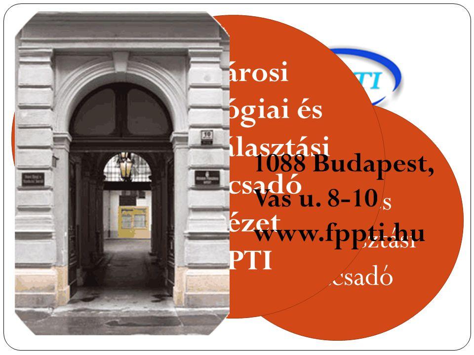 Fővárosi Pedagógiai és Pályaválasztási Tanácsadó Intézet