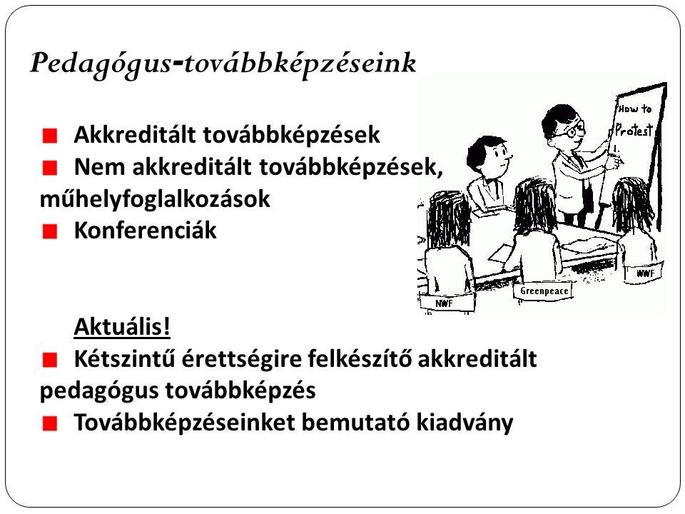 Pedagógus-továbbképzéseink