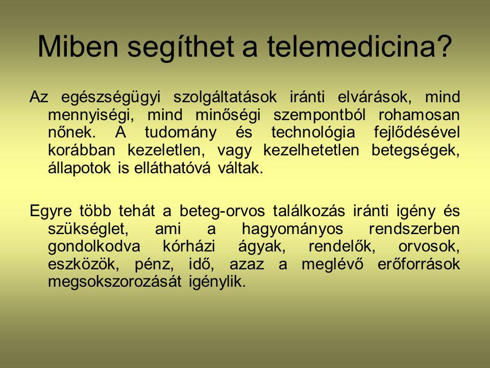 Miben segíthet a telemedicina