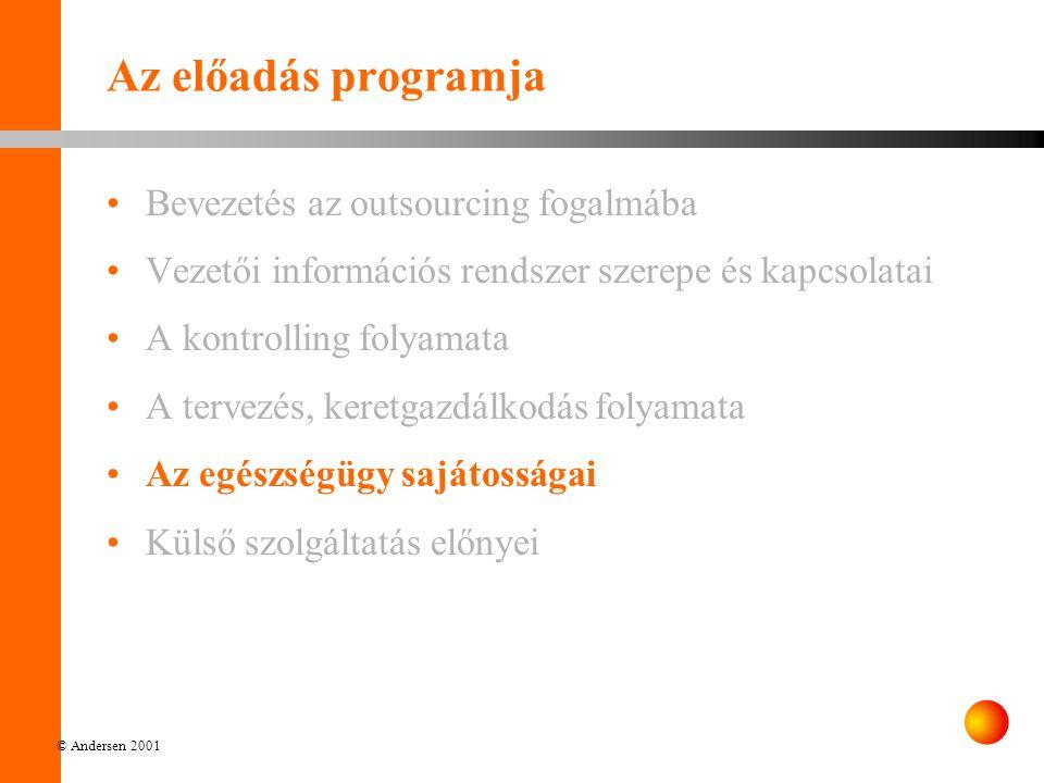 Az előadás programja Bevezetés az outsourcing fogalmába