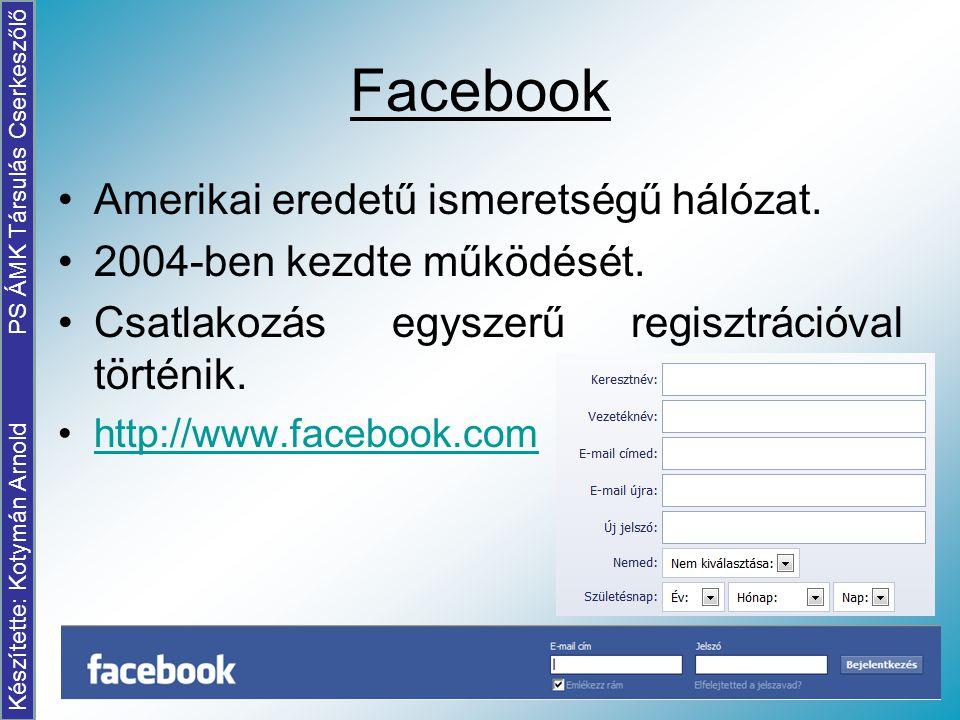 Készítette: Kotymán Arnold PS ÁMK Társulás Cserkeszőlő