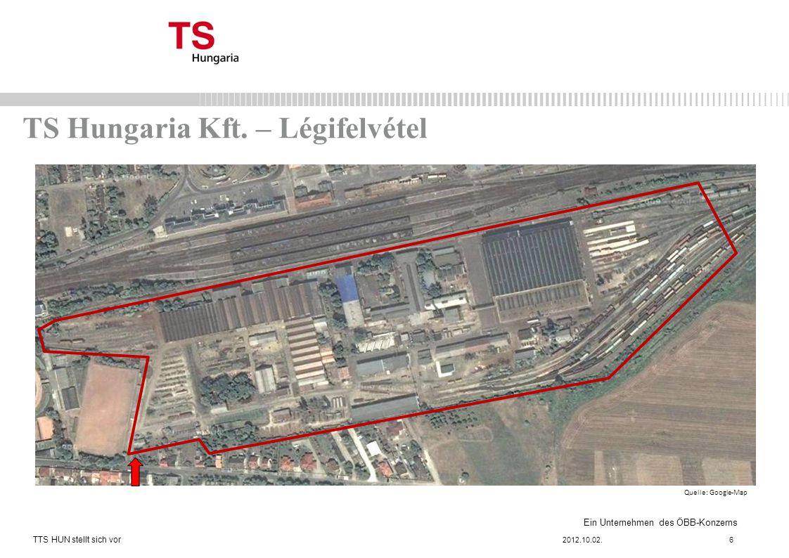 TS Hungaria Kft. – Légifelvétel