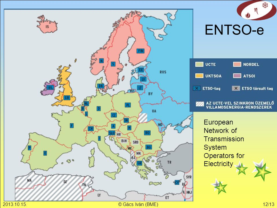 ENTSO-e European Network of Transmission System Operators for Electricity.