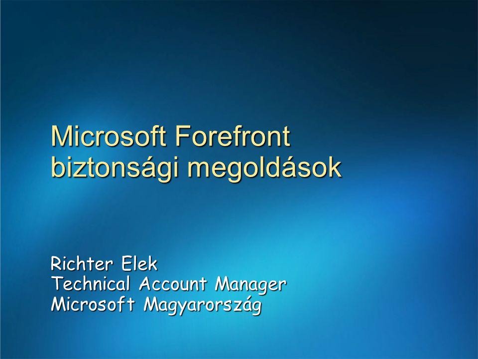 Microsoft Forefront biztonsági megoldások