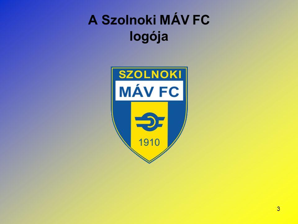 A Szolnoki MÁV FC logója