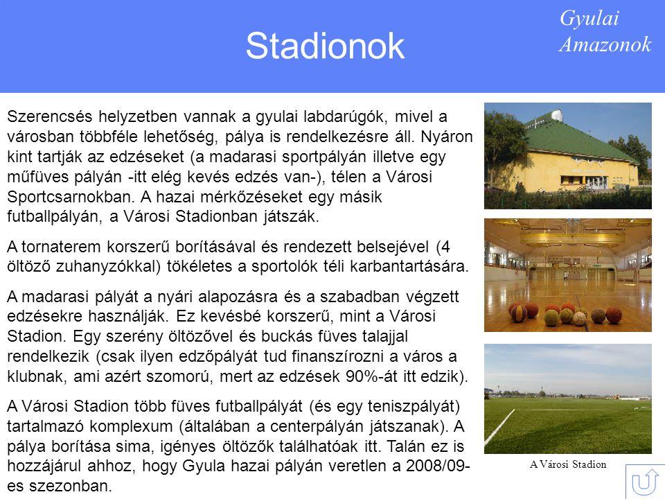 Stadionok Gyulai Amazonok