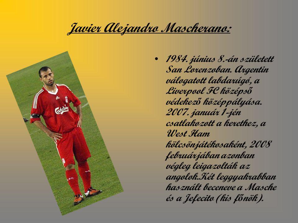 Javier Alejandro Mascherano:
