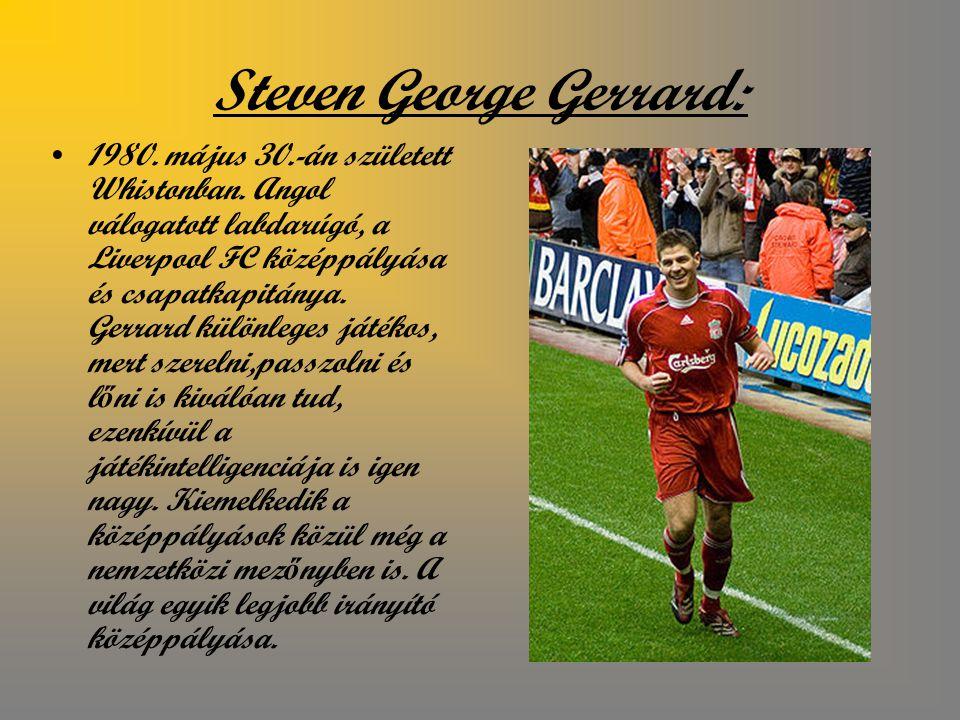 Steven George Gerrard: