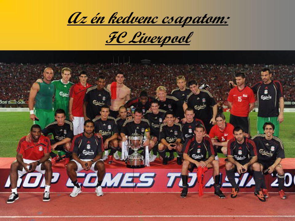 Az én kedvenc csapatom: FC Liverpool