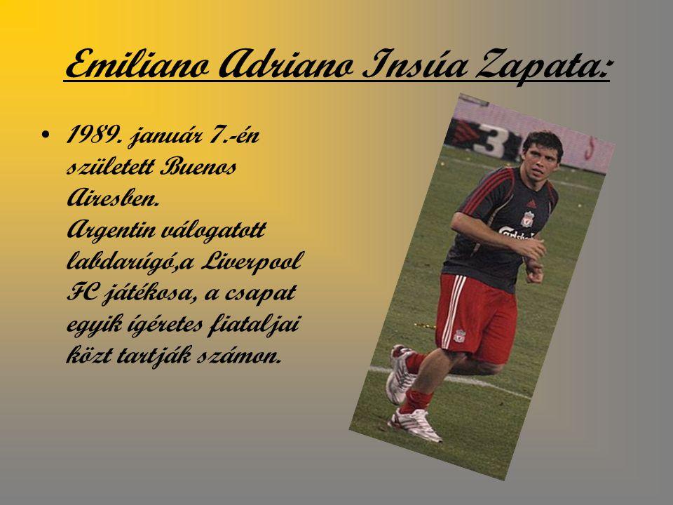Emiliano Adriano Insúa Zapata: