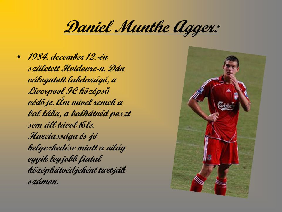 Daniel Munthe Agger: