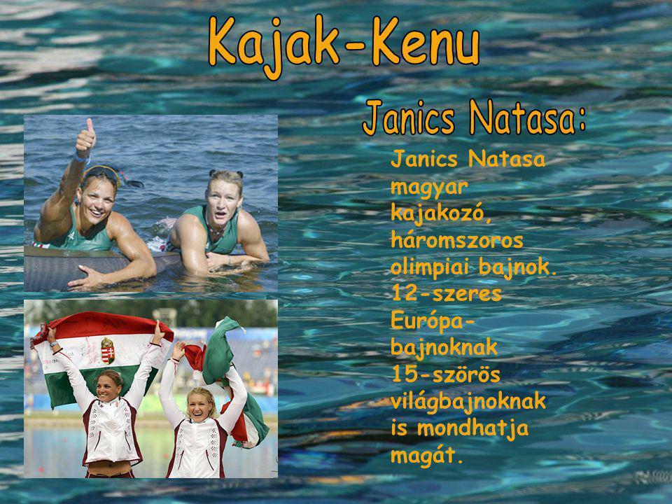 Kajak-Kenu Janics Natasa: