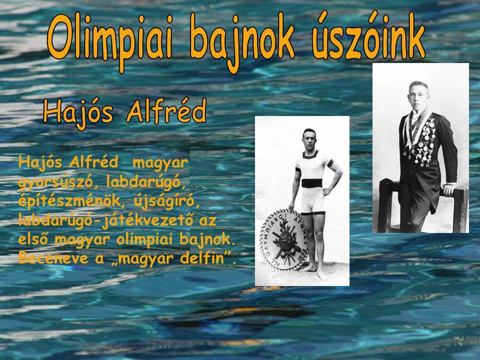 Olimpiai bajnok úszóink