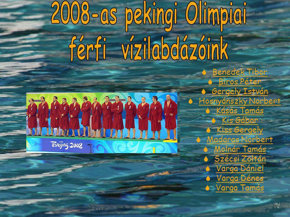 2008-as pekingi Olimpiai férfi vízilabdázóink
