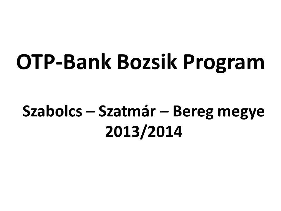 OTP-Bank Bozsik Program Szabolcs – Szatmár – Bereg megye