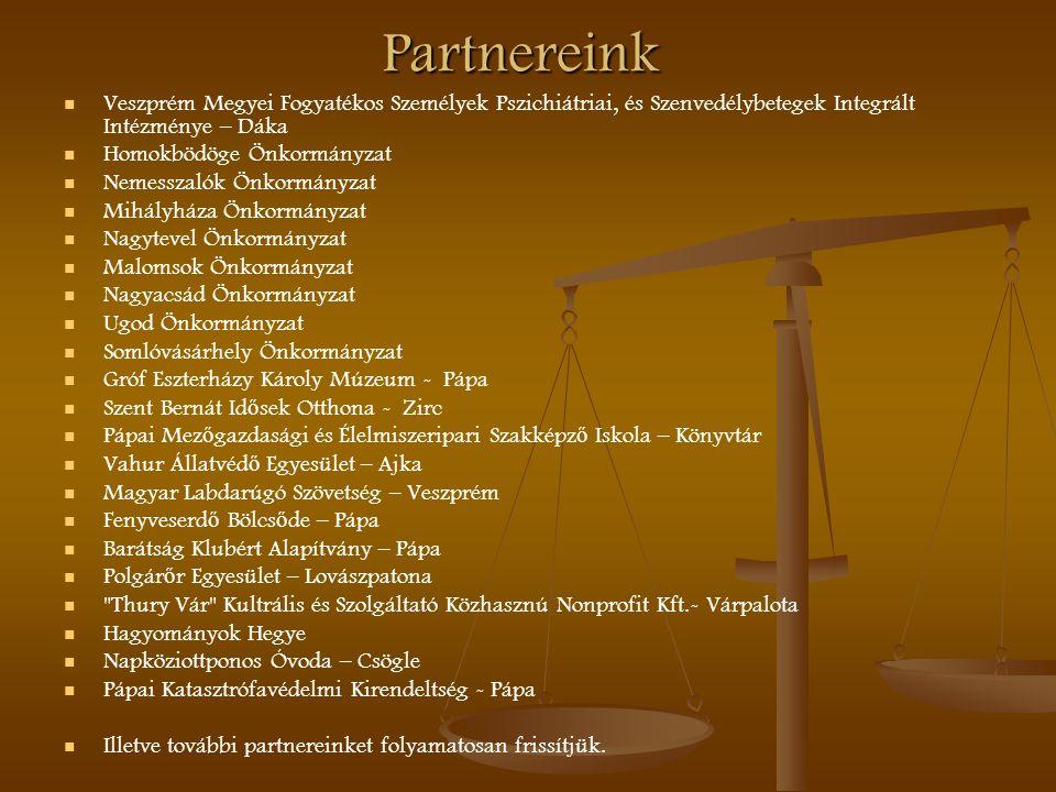 Partnereink Veszprém Megyei Fogyatékos Személyek Pszichiátriai, és Szenvedélybetegek Integrált Intézménye – Dáka.