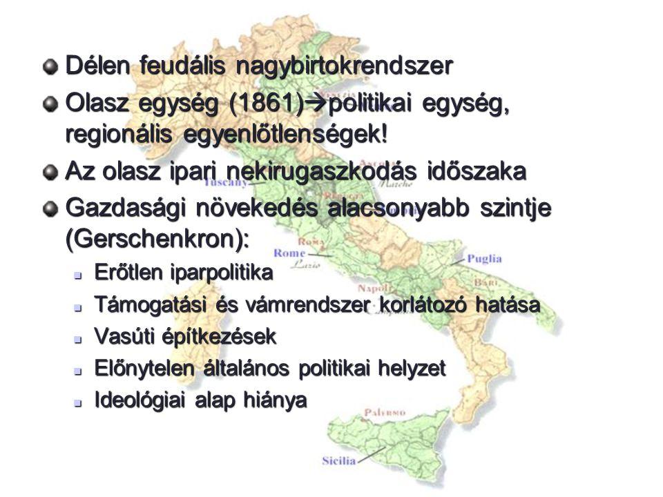 Délen feudális nagybirtokrendszer