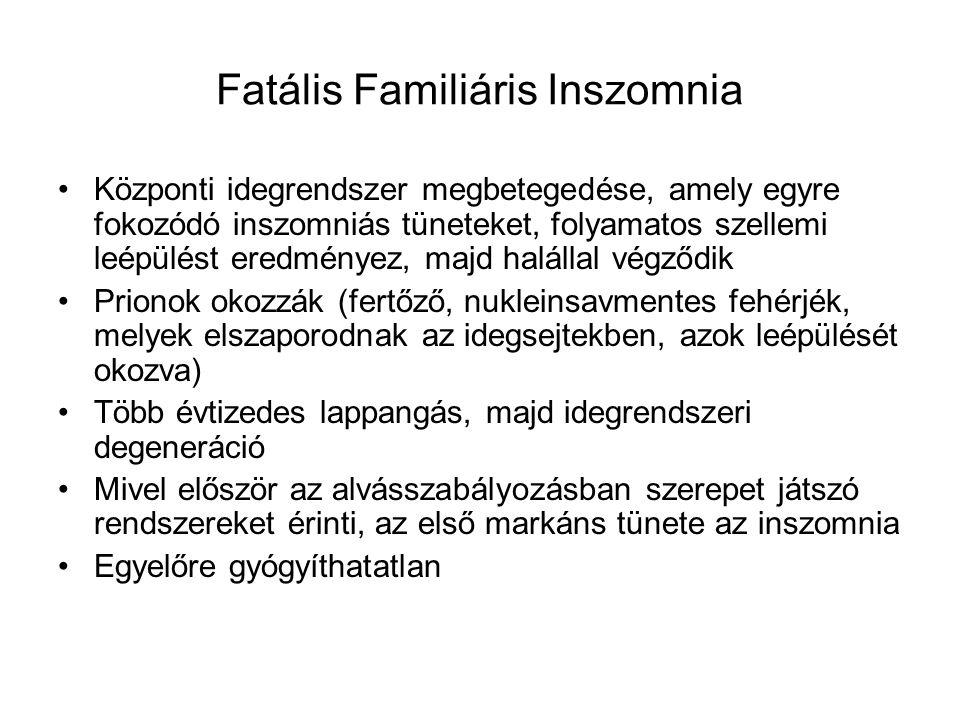 Fatális Familiáris Inszomnia