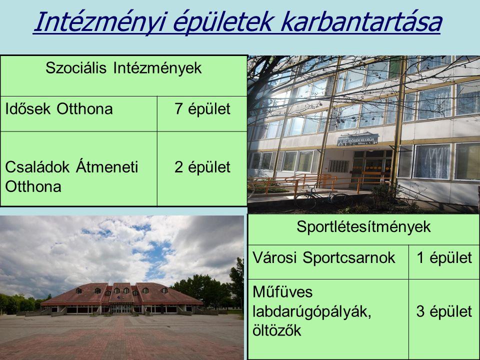 Intézményi épületek karbantartása