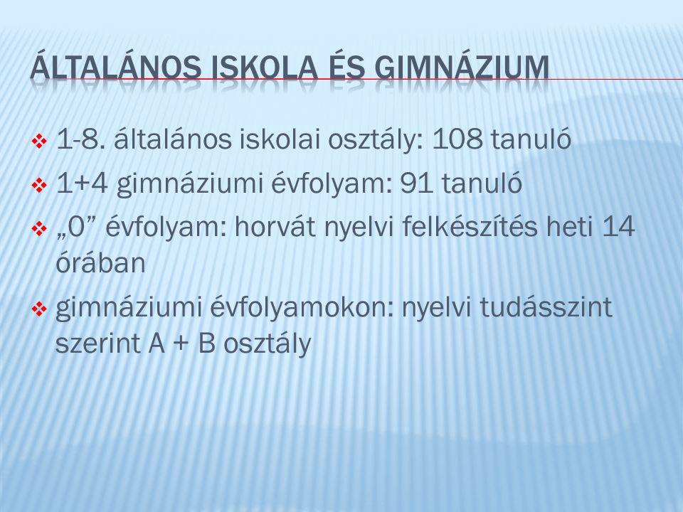 ÁLTALÁNOS ISKOLA ÉS GIMNÁZIUM