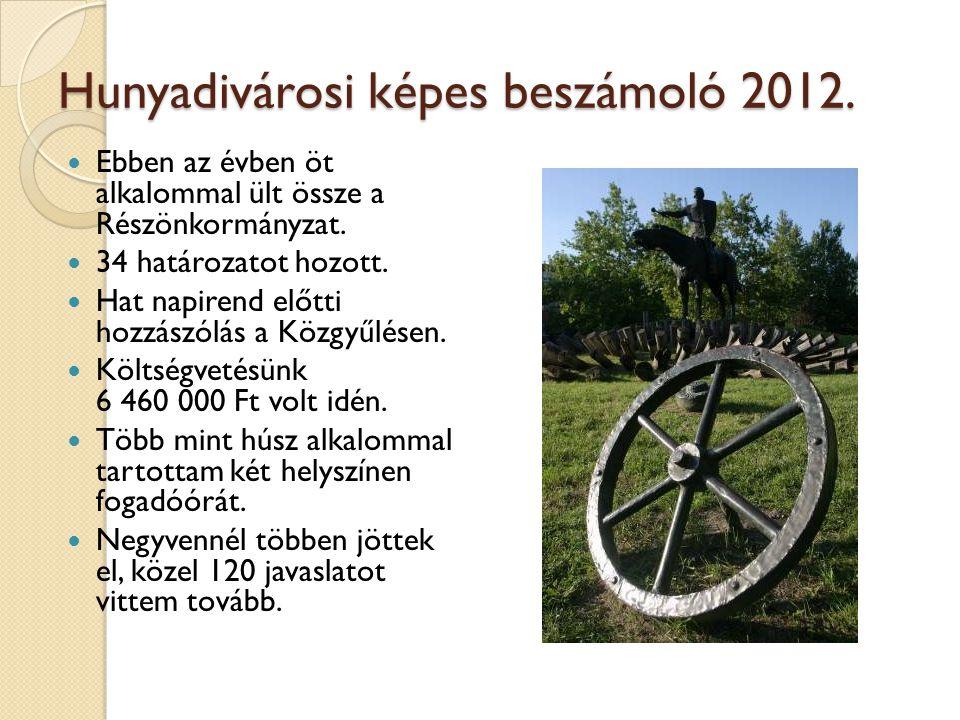 Hunyadivárosi képes beszámoló 2012.